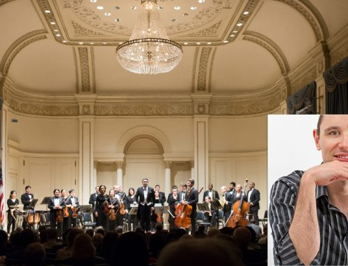 Only one month to my debut at Carnegie Hall in New York, December 12 is approaching…