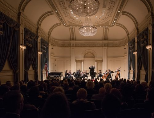 My debut at Carnegie Hall: remembering New York