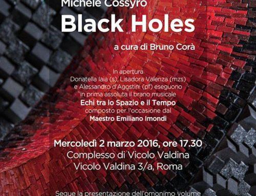 Great success last March 2 at the world premiere of my work Echi tra Spazio e Tempo