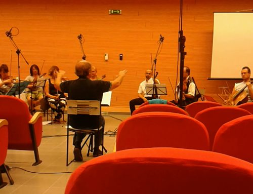 My last work for String Orchestra recorded in July