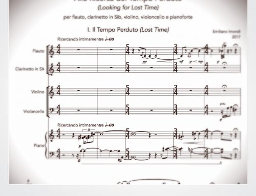 In Search of Lost Time: new composition inspired by the Proust's main work
