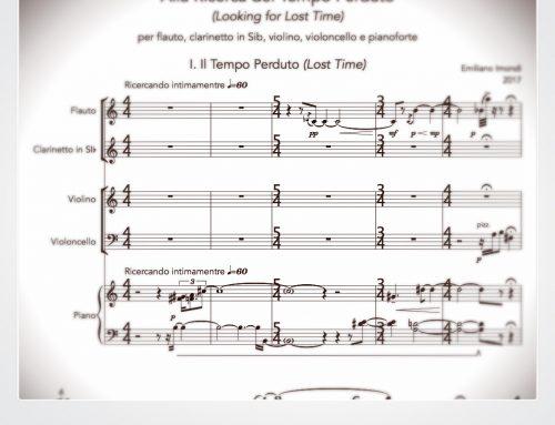 Alla Ricerca del Tempo Perduto: nuovo brano ispirato all'opera di Proust